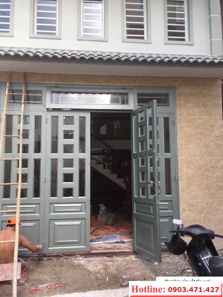 sơn sửa cửa sắt