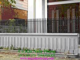 Mẫu Hàng rào sắt SV2199