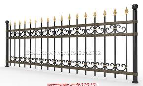 Mẫu Hàng rào sắt SV2183