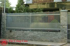 Mẫu Hàng rào sắt SV2167